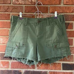 Anthro G1 Goods Drill Shorts
